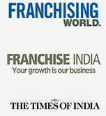 Clublaptop featured in the times of India and franchising world, franchise India