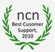 Clublaptop awarded for Best Customer support by NCN