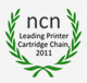 Clublaptop awarded by NCN as leading printer cartridge chain 2011