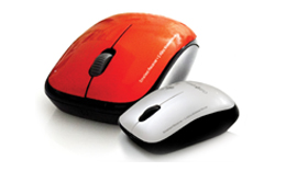 Clublaptop  stylish & compact wireless mouse for ease of carry & use